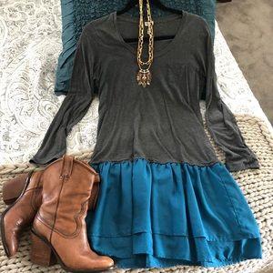 Splendid brand cotton and silk dress